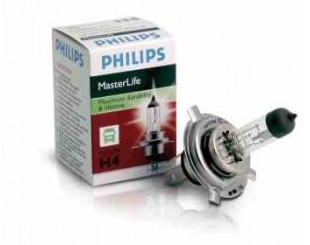 Bec Far faza lunga PHILIPS 13342MLC1 H4 24 V MASTERLIFE