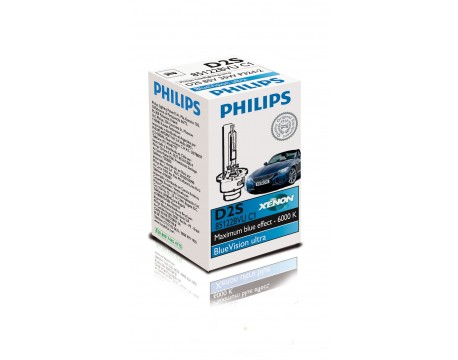 Bec Far Faza Lunga Philips 85122BVUC1 D2S BlueVision ultra
