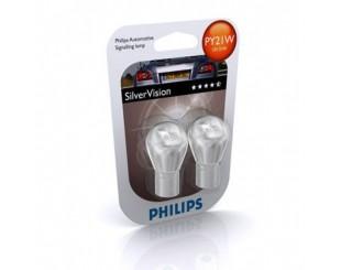 Bec, semnalizator Philips 12496SVB2 PY21W SilverVision