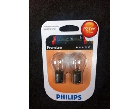 Bec, lampa frana PHILIPS 12498ECOCP P21W EcoVision