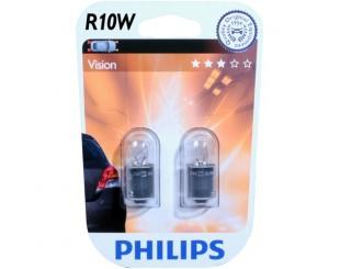 Bec,lumini de stationare PHILIPS 12814B2 R10W Blister