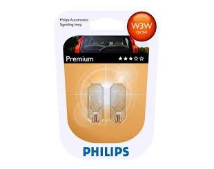 Bec incandescent Philips 12256B2 W3W PREMIUM