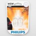 Bec iluminare habitaclu Philips 12961B2 W5W 12V 5W blister 2 buc.