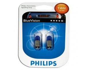Bec Philips 12929BVB2 T4W BlueVision 12V