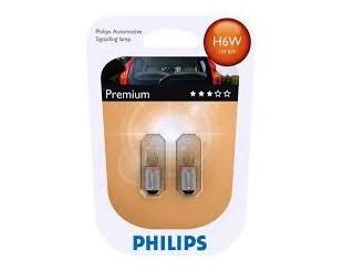 Bec Pozitie Philips 12036B2 H6W 12V 6W PREMIUM