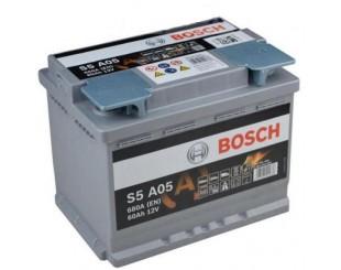 Baterie Auto Bosch S5 AGM 60Ah 680A
