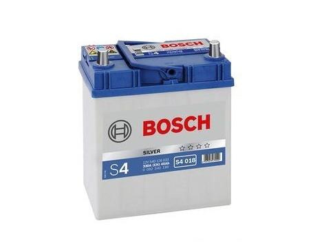 Baterie Motocicleta Bosch S4 40Ah 330A ASIA borne inguste