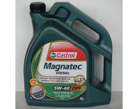 Ulei Motor Castrol 5W40 MAGNATEC DIESEL DPF 5L
