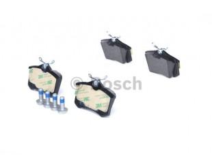 Set placute frana spate Bosch fara avertizare sonora Audi, Seat, Skoda, VW 2000-2015