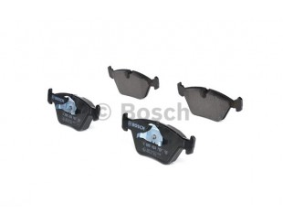 Set placute frana fata Bosch cu avertizare sonora BMW 3, X3, Z4 2000-2011