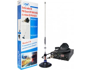 Kit Statie radio CB PNI ESCORT HP 8000 ASQ Antena CB PNI ML70