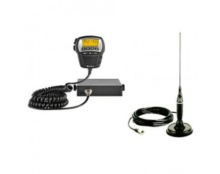 Pachet Statie radio Cobra 75 ST si Antena Cobra HG A1500