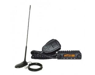 Statie radio CB Albrecht AE 6110 ASQ si Antena PNI Extra 45