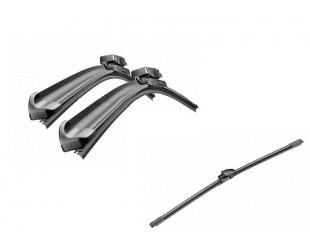 Pachet Stergatoare Parbriz si Stergator Luneta Bosch AeroTwin VW Golf 6 Skoda Yeti 2009-