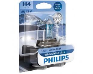 Bec auto Philips H4 White Vision Ultra 4200K 12V 60/55W