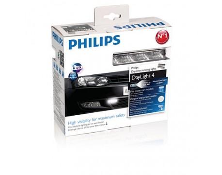 Lumini de zi Philips 12831ACCX1 LED DayLight 4 12V 6 W