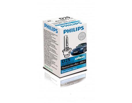 Bec Far Faza Lunga Philips 85122BVUC1 D2S BlueVision ultra