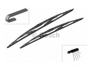 Set stergatoare Bosch Twin cu spoiler, 700/650mm