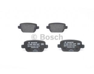 Set placute frana spate Bosch fara avertizare sonora Ford, Land Rover 2006-2015