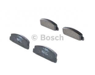 Set placute frana spate Bosch fara avertizare sonora Mazda 2000-2012