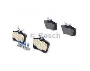 Set placute frana spate Bosch fara avertizare sonora Citroen, Ford, Peugeot 2002-2015