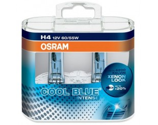 Bec Far Osram Cool Blue Intense H4 12V/55W 2 bucati